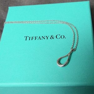 Tiffany & Co. Elsa Peretti Open Teardrop Pendant